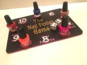 spa party nail polish board