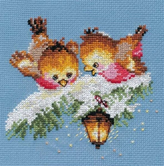 A Brand New Counted Cross Stitch Kit Two Winter