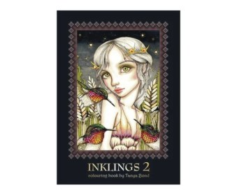 Inklings 2 on Etsy from Tanya Bond favorite coloring Books