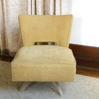 Vintage Kroehler Swivel Slipper Chair Mid by lisabretrostyle2