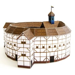 Shakespeare Globe Theater Diagram Viper Alarm 5900 Wiring Theatre Crafts Kit For Building Your Own Replica Of
