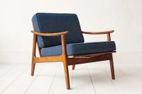 Mid Century Rocking Chair Lounge Chair