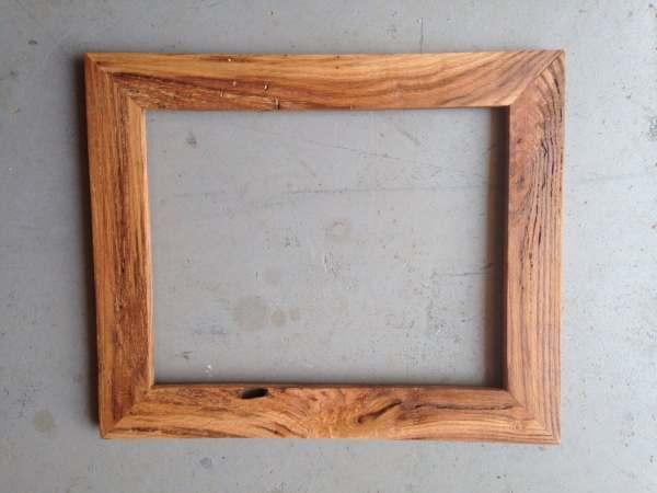 Custom 11x14 Oak Wood Frame