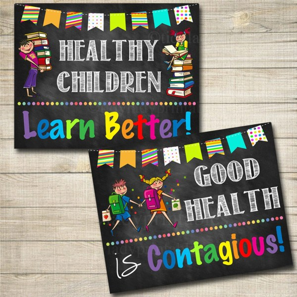 Health Room Office Posters School Nurse