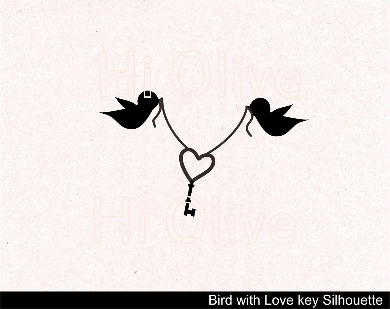 Svg Birds Clip Art Wedding Silhouette Clip Art Birds With