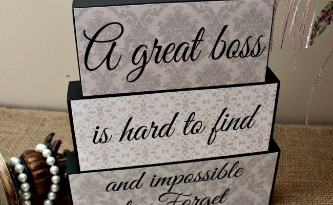 Gift For Boss A Great Boss Is Hard To Find And By