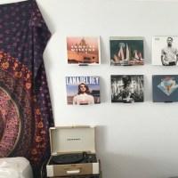 Vinyl Record Wall Mount Display Shelf 3D Printed Wall Art