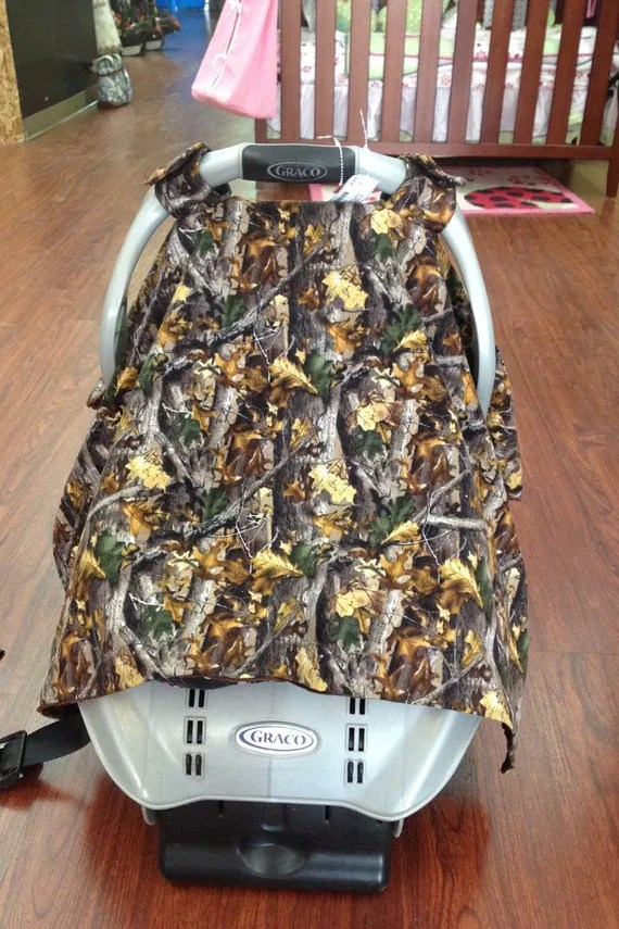 Sale Camo Car Seat Canopy Car Seat Cover Baby Car Seat