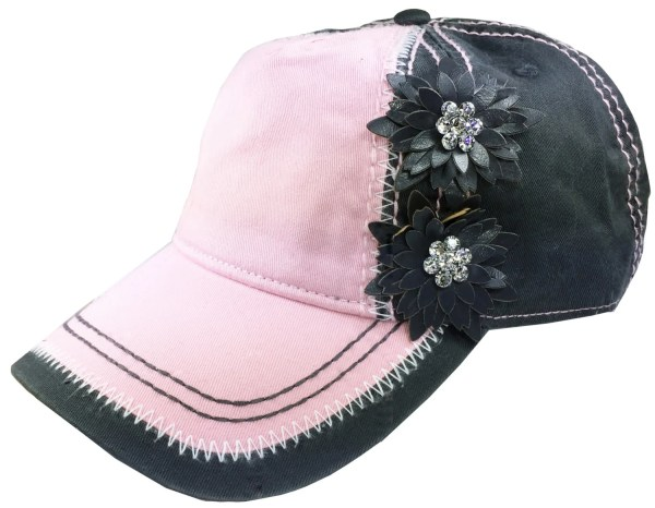 Ladies Baseball Cap Embellished Women'
