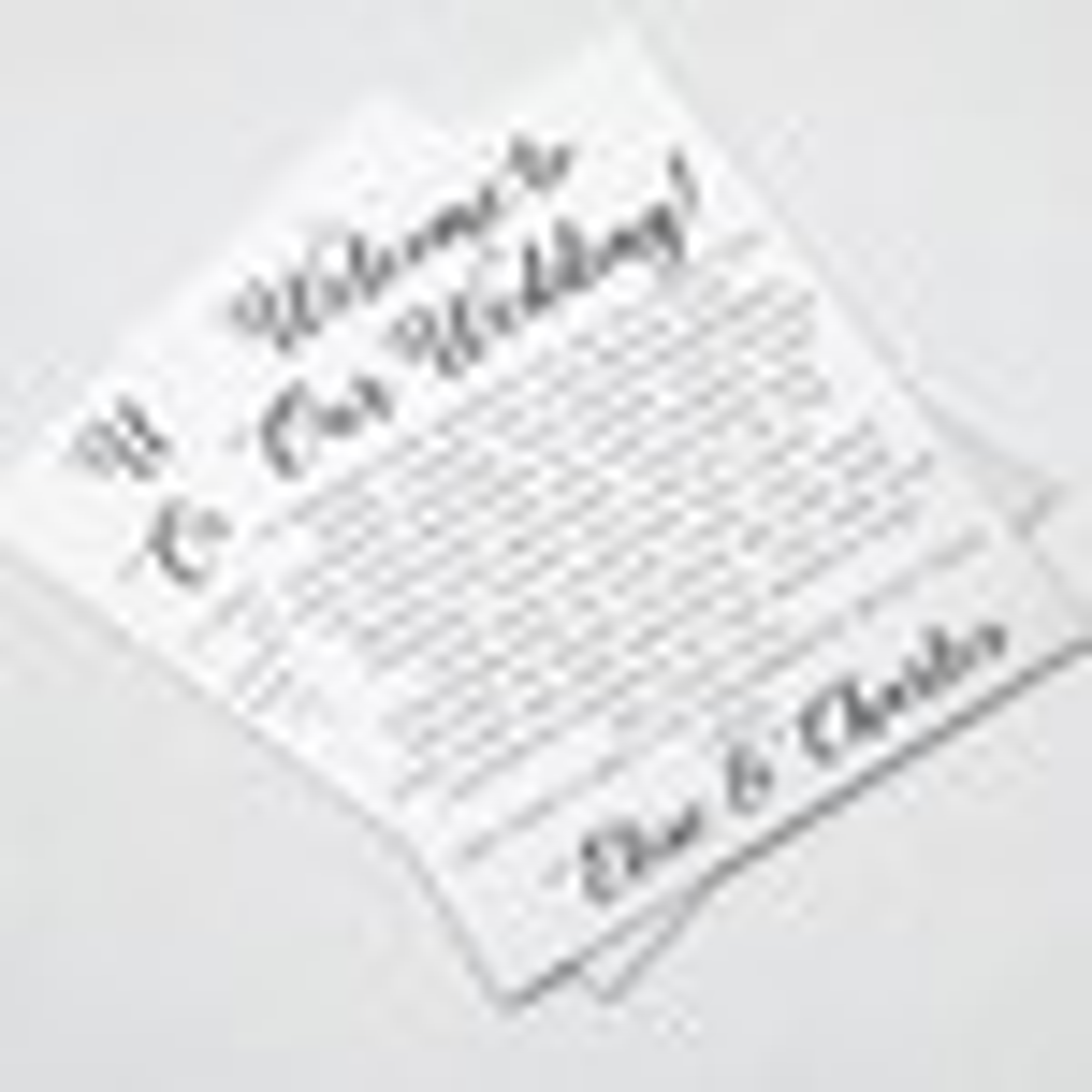 Wedding Welcome Letters Wedding Itineraries Wedding Welcome