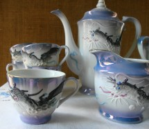 Moriage Dragon Tea Set - Year of Clean Water