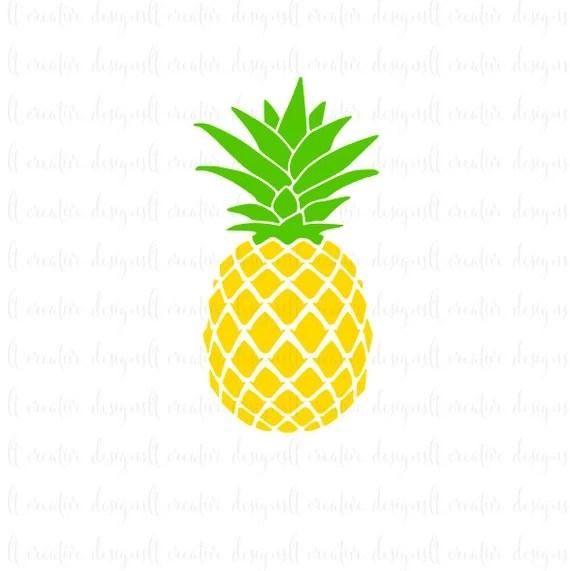 Download Pineapple SVG, Pineapple Monogram SVG, SVG Files, Cricut ...