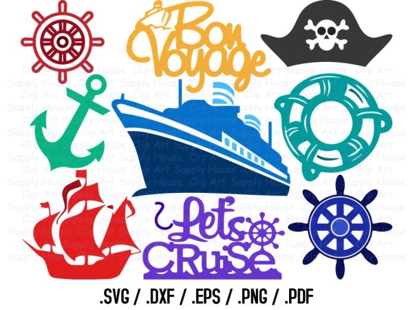 cruise ship svg files clipart