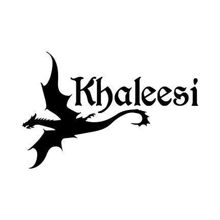 Game of Thrones Khaleesi Game of Thrones Decal Khaleesi