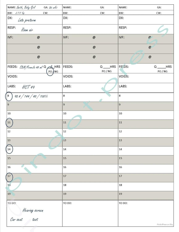 Nursing Assignment Worksheet
