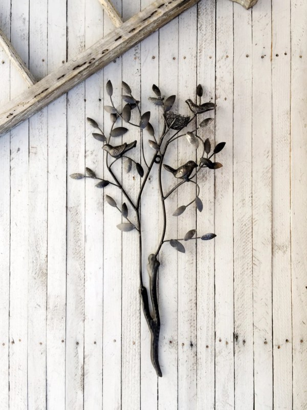 Twig Decor Birds Wall Art Bird Nest