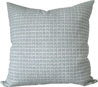 High End Designer Decorative Pillow Cover-China Seas-Fez-Grey