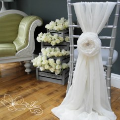 Beautiful Chair Covers For Weddings Bing Bag Chairs Wedding 7 Fabric Flower Cloud Rose By Delalinens