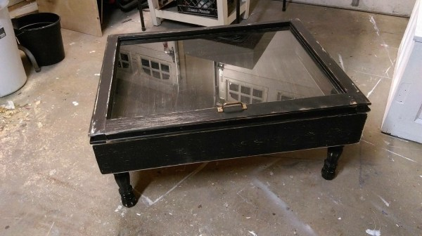 Single Pane Coffee Table Shadow Box