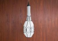 Items similar to Upcycled Antique Blue Quart Mason Jar ...