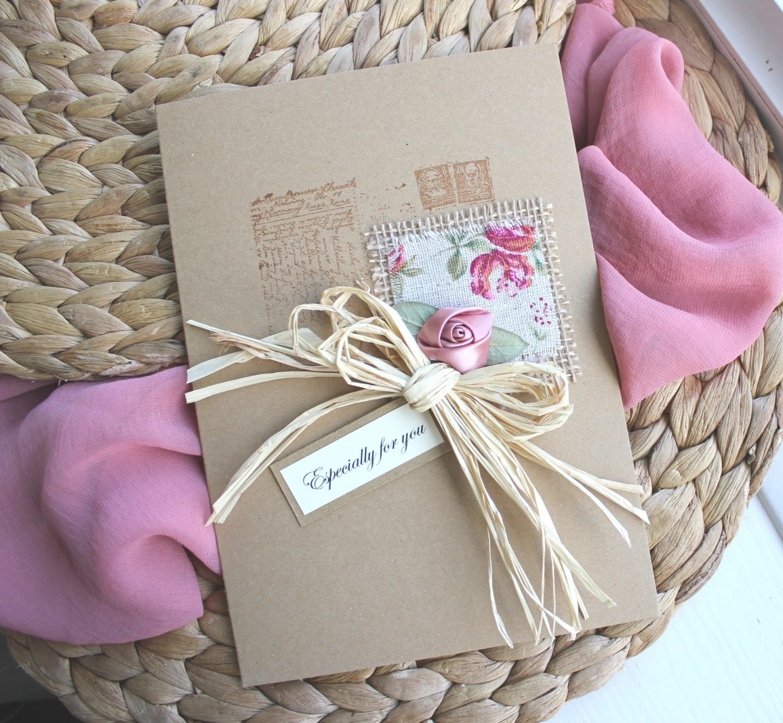 Handmade Birthday Card Daughter Mum Girlfriend Wife Sister