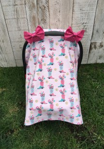 c762432e7 Car Seat Canopy Baby Girl Cover - Year of Clean Water