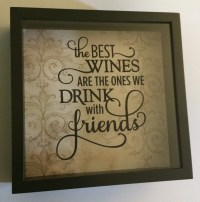 Wine Cork Holder Shadow Box: Wine Corks Gifts Friends
