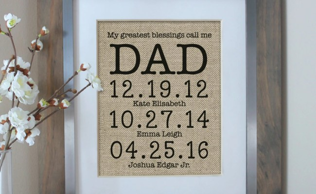 Fathers Day Gift Personalized Gift For Dad Or By