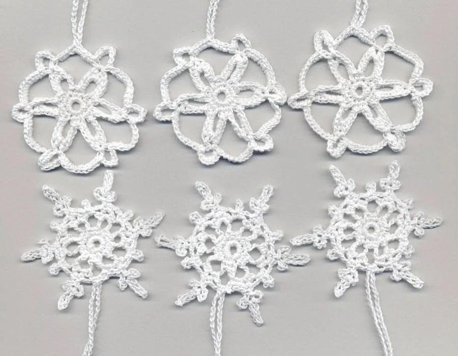 Items similar to Сhristmas snowflakes, crochet snowflakes