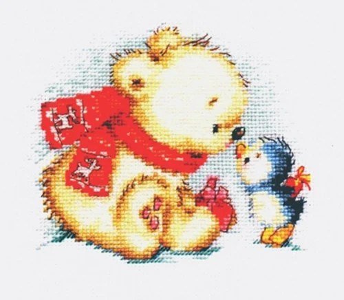 A Brand New Counted Cross Stitch Kit Christmas