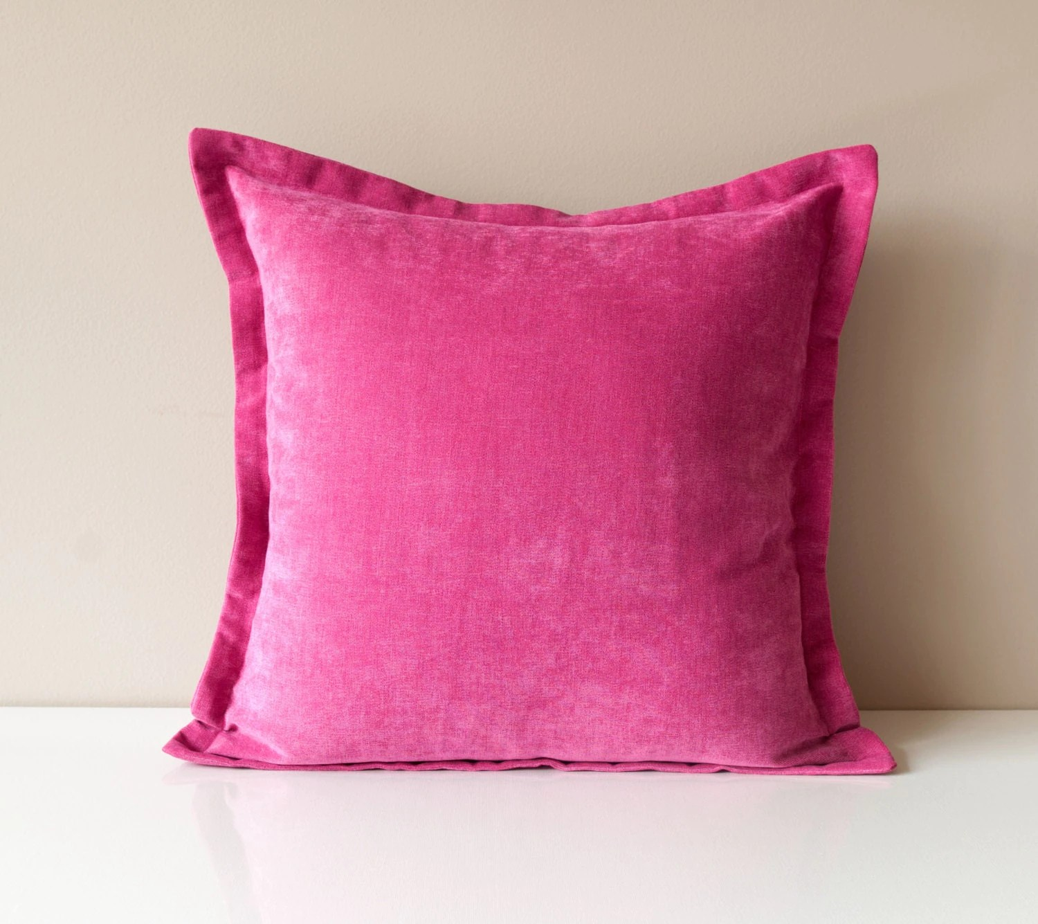 pink throw pillows for sofa sectional clips velvet pillow cover solid by onehappypillow