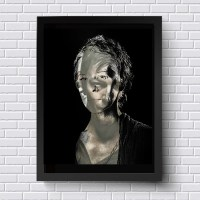 Carol The Walking Dead Wall Art TWD Original Artwork TV