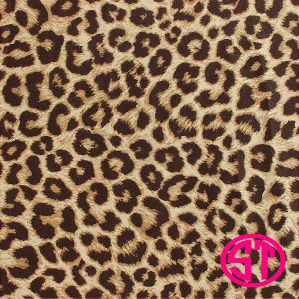 Leopard Print Vinyl HTV