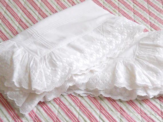 monogrammed pillowcases etsy