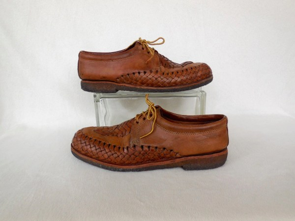 Mexican Huaraches Woven Leather Shoes Mens Boho