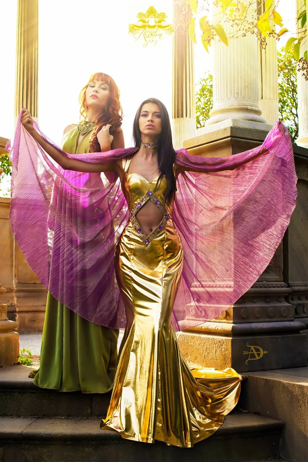 Bellydance Cleopatra Goddess Costume Isis Dress Oriental Dance