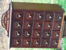 Antique Apothecary Cabinet Pharmacy Display Sharp