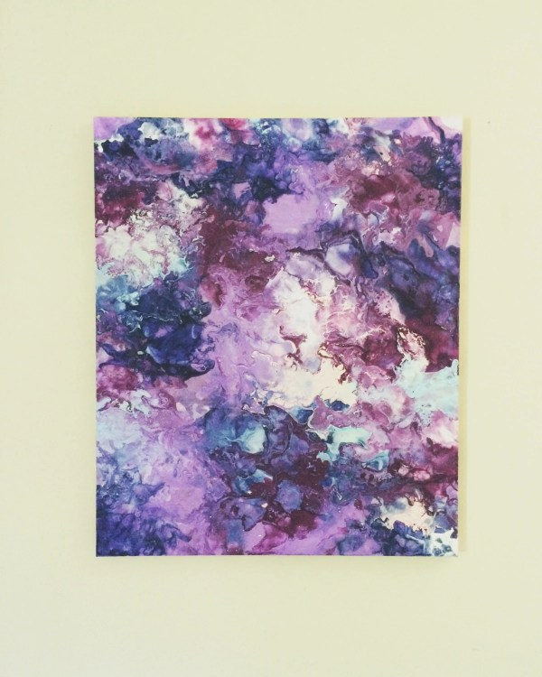Purple Pink Painting Abstract Canvas Art Resemblesme