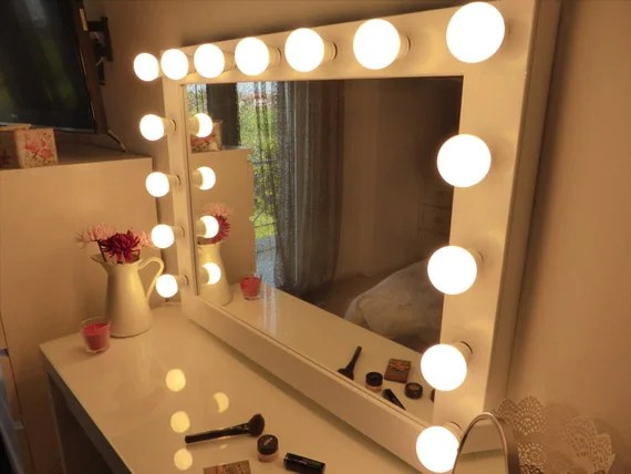 Makeup Mirror Lighted