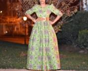 Dingli Ankara Maxi Dress African Print Long Evening