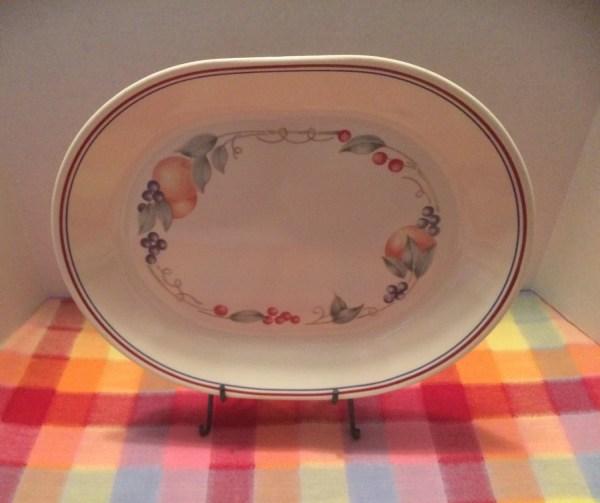 Corelle Abundance Oval Serving Platter