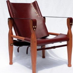 Leather Safari Chair Tell City Chairs 4620 Campaign Camp Brown By Thirdlifedesigns