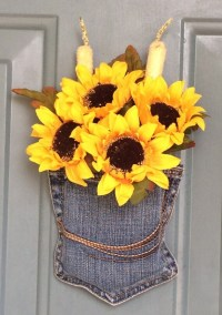 Sunflower Door Decoration Christmas Gifts for Her Gifts