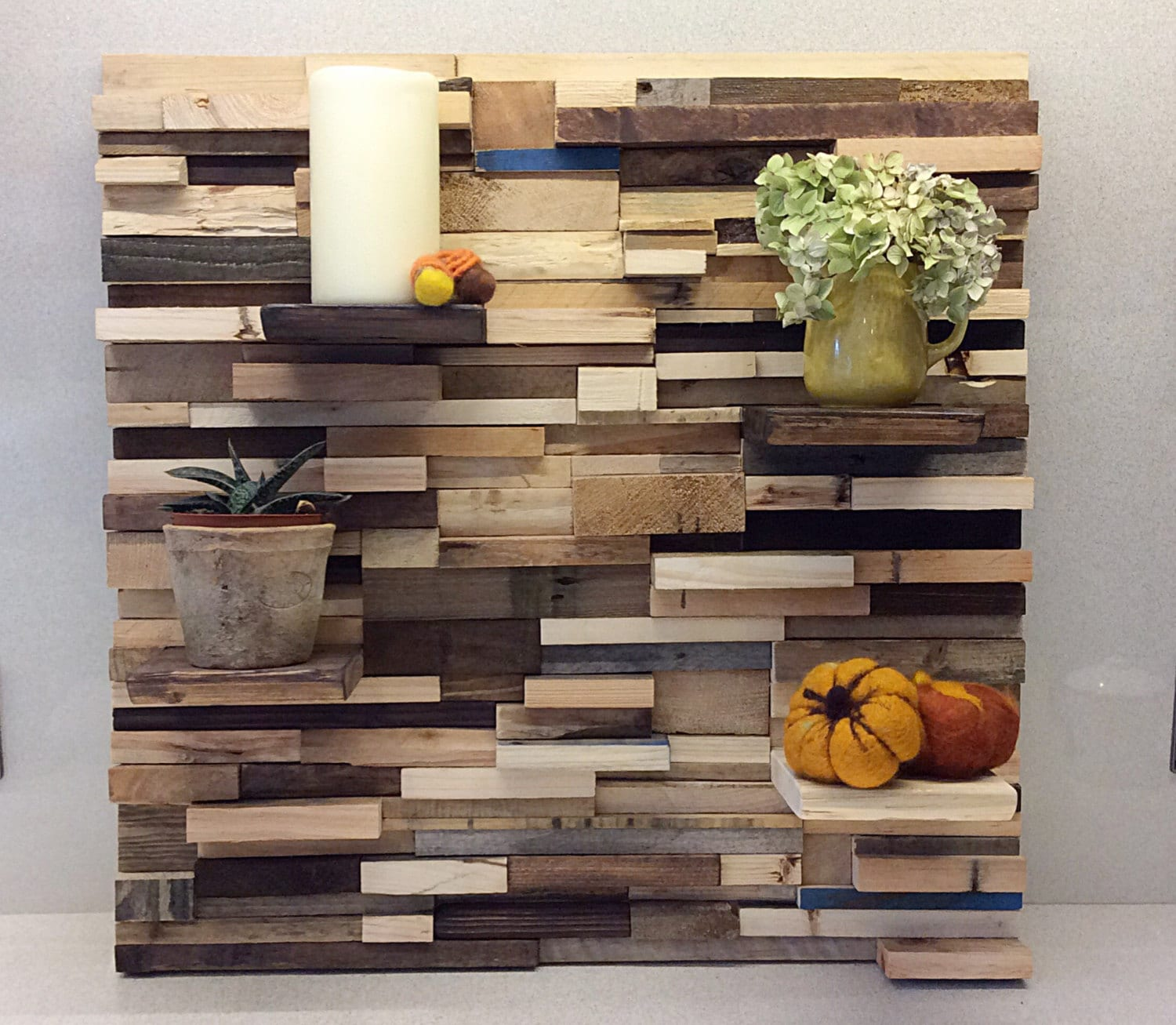 Pallet Wall Art Bespoke Feature Wall Reclaimed Gallery wall