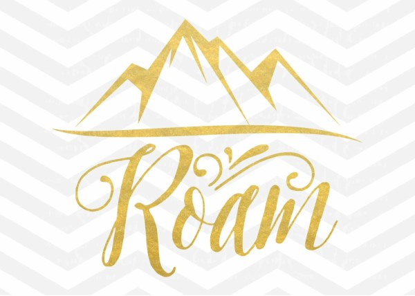 roam svg mountain clip art mountains