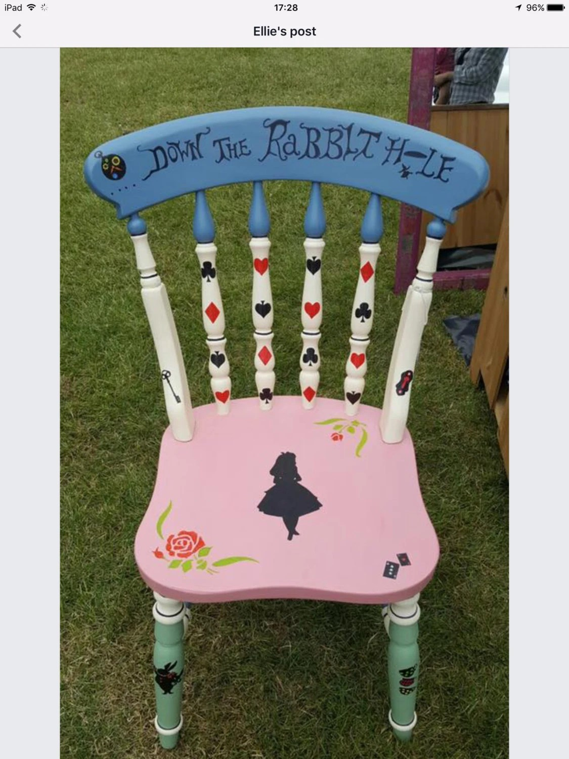 alice in wonderland chair heated office pad chairs
