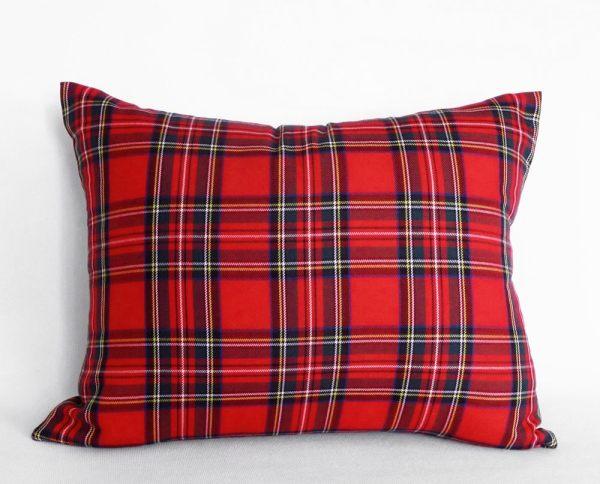 Red Plaid Pillow Cover Tartan Pillows Christmas