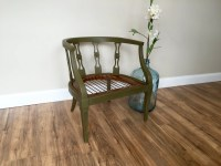Green Chair Occasional Chair Federal Style Furniture