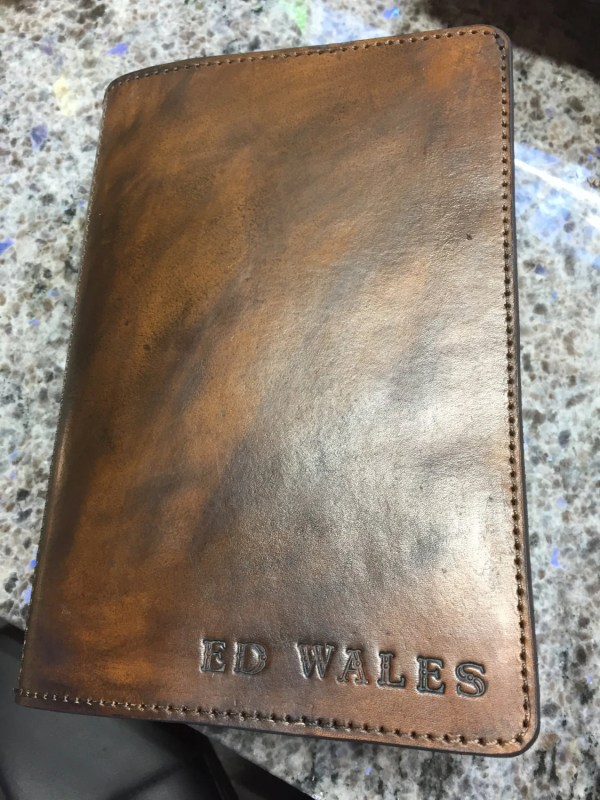 Custom Made Leather Bible Covers - Year of Clean Water