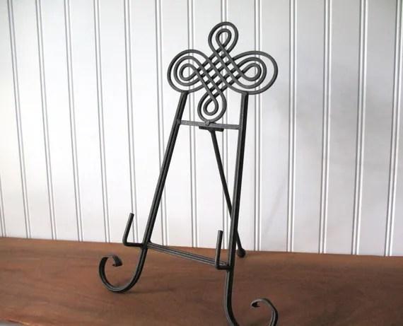 14 BROWN METAL EASEL Wire Tabletop Wedding Display
